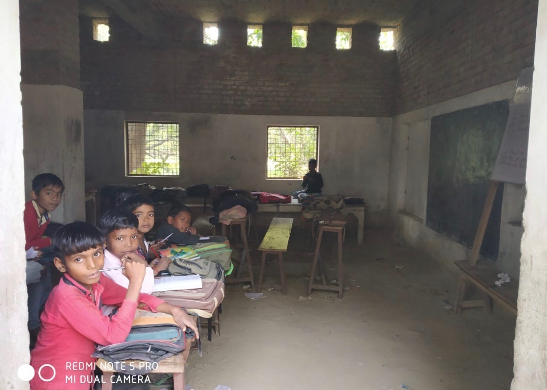 Primary school ghardi, Uttar Pradesh, India